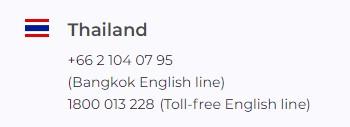 IQ Option Thailand Contact